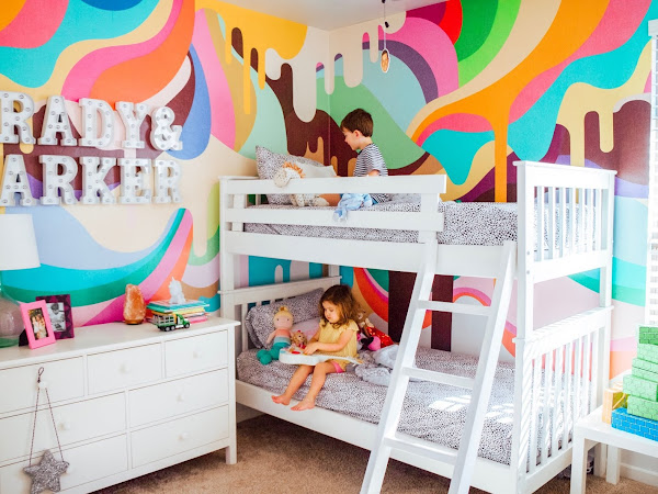 Ice Cream Wallpaper | An Epic Kids Room Makeover