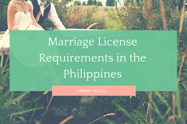 marriage license requirements philippines
