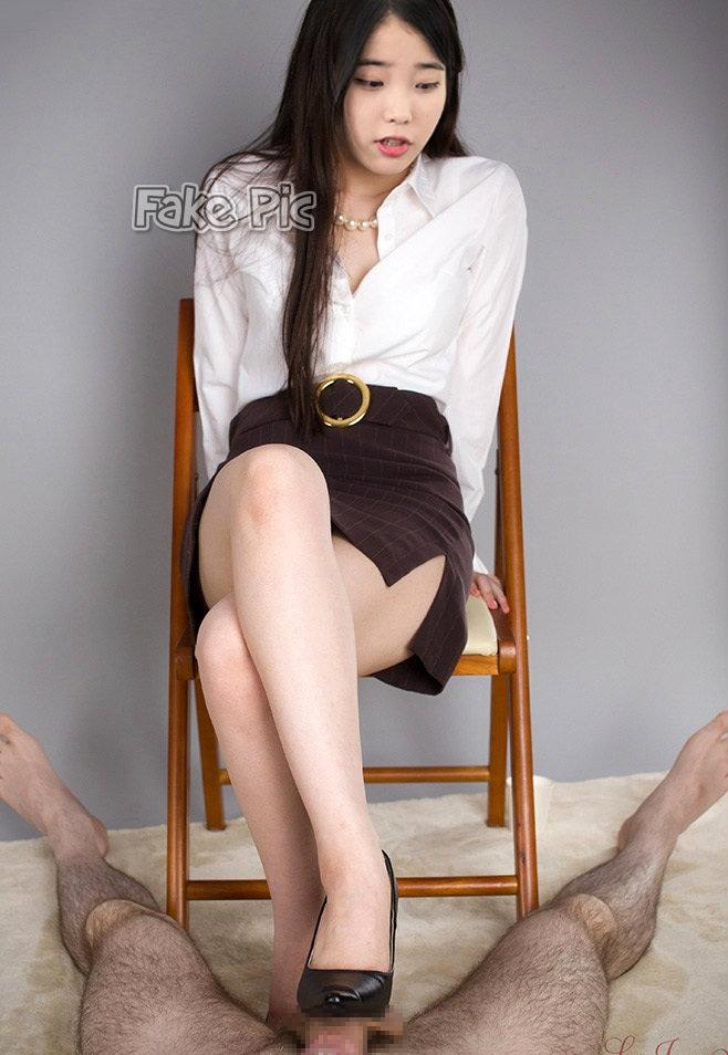 uiu4 xiaomi idolfakecom - Sexy cute iu kpop fake nude