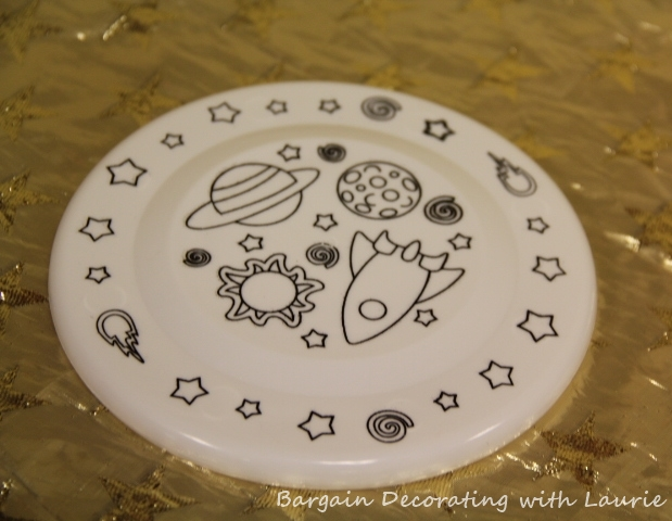 Outer Space Party-Bargain Decorating with Laurie