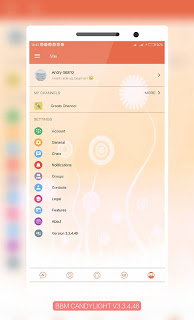 download bbm mod candy light v3.3.4.48