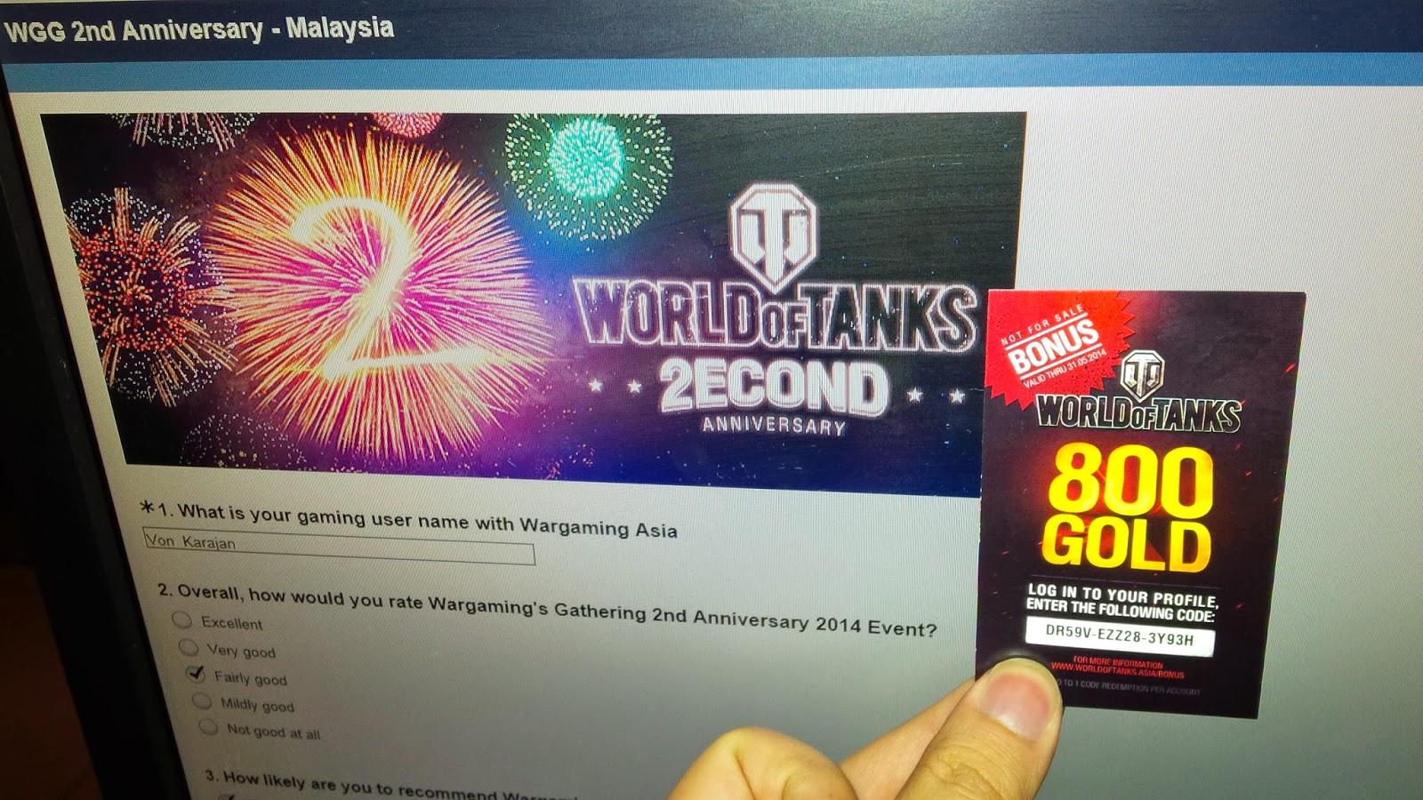 TANKS, GUNS & ROCK 'N ROLL: World of Tanks Asia 2nd Anniversary