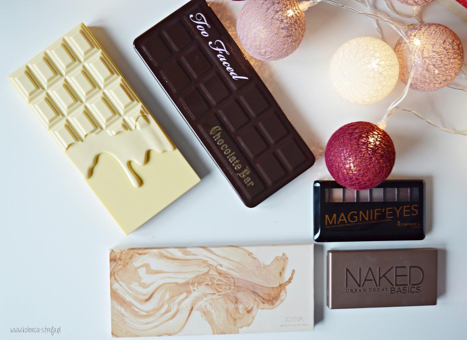 TOP 5! Najlepsze palety cieni do makijażu dziennego: Urban Decay, Too Faced, Zoeva, Makeup Revolution