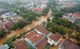 Banjir Yang Melanda Kawasan Perumahan