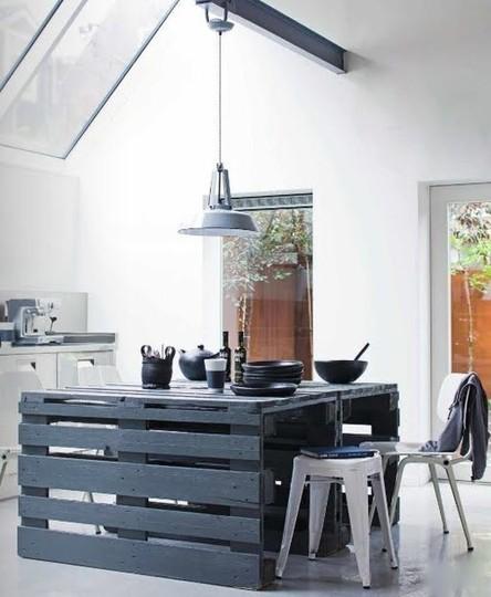 decoração reciclada pallet cozinha