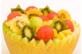 Receta Ensalada de frutas tropicales