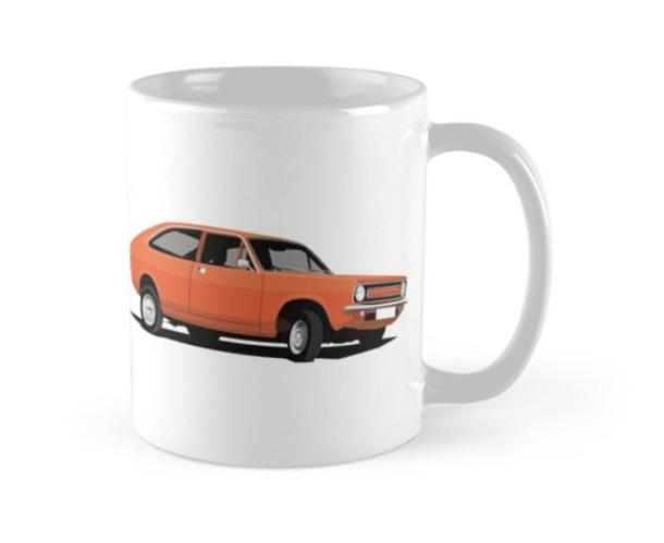 Vintage Morris Marina Coupé - coffee mug