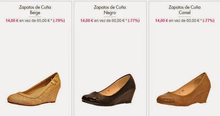 Zapatos tacón 14€
