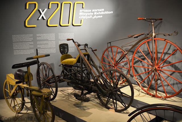 תערוכת האופניים  Bicycle exhibition