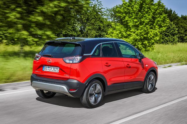 το Opel Crossland X