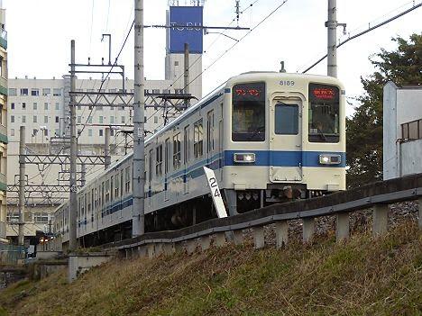 東武宇都宮線 ワンマン 新栃木行き 8000系LED車