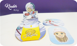 Les Silhouettes en Carton Kinder Joy