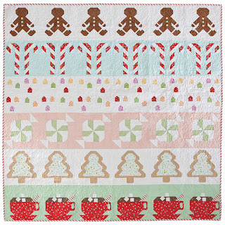 Gingerbread House Quilt by Gracey Larson in Love Patchwork and Quilting magazine