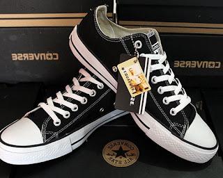 sepatu all star converse original asli coklat