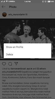 Cara Megarsipkan Foto dan Mengembalikan Foto yang diarsipkan dI Instagram