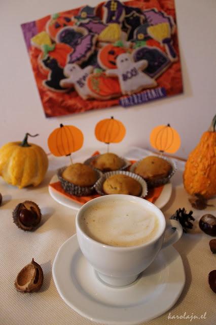MUFFINKOWY ZAWRÓT GŁOWY - rozgrzewające muffinki dyniowe z lekką nutą gorzkiej czekolady