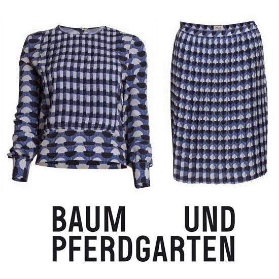 Baum und Pferdgarten Pleated Skirt and Top
