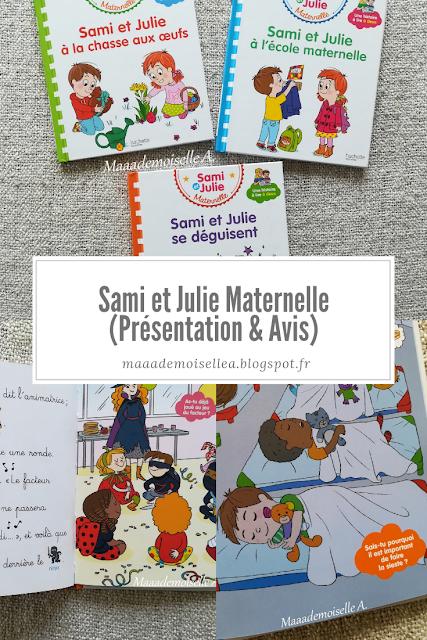 || Sami et Julie Maternelle (Présentation & Avis)(Chut, les enfants lisent # 104) - Sami et Julie la chasse aux oeufs, à l'école maternelle et se déguisent