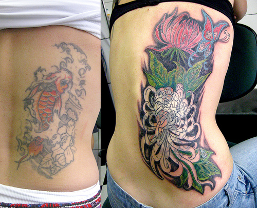 Tattoo Cover Ups Designs: Tattoo Meaning: Cover Up Tattoos