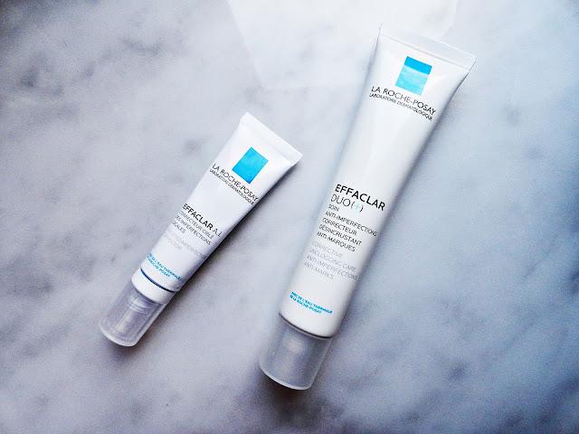 effaclar duo + a.i. trądzik leczenie la roche posay woda termalna cera pielęgnacja skóra lato makijaż baza