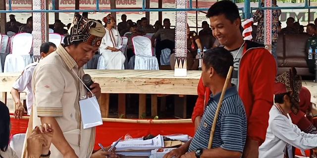 KPU Tana Toraja Hadirkan Pemilih Tunanetra Dalam Simulasi Pemilu 2019