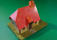 Papercut house from 5th edition starterbox - Front