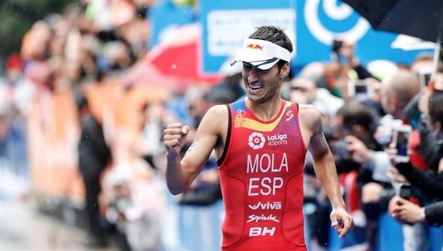 Mario Mola campeón del Mundo de Triatlón 2017