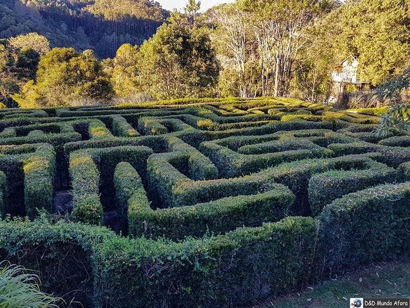 Labirinto do Jardim Amantikir - City Tour em Campos do Jordão