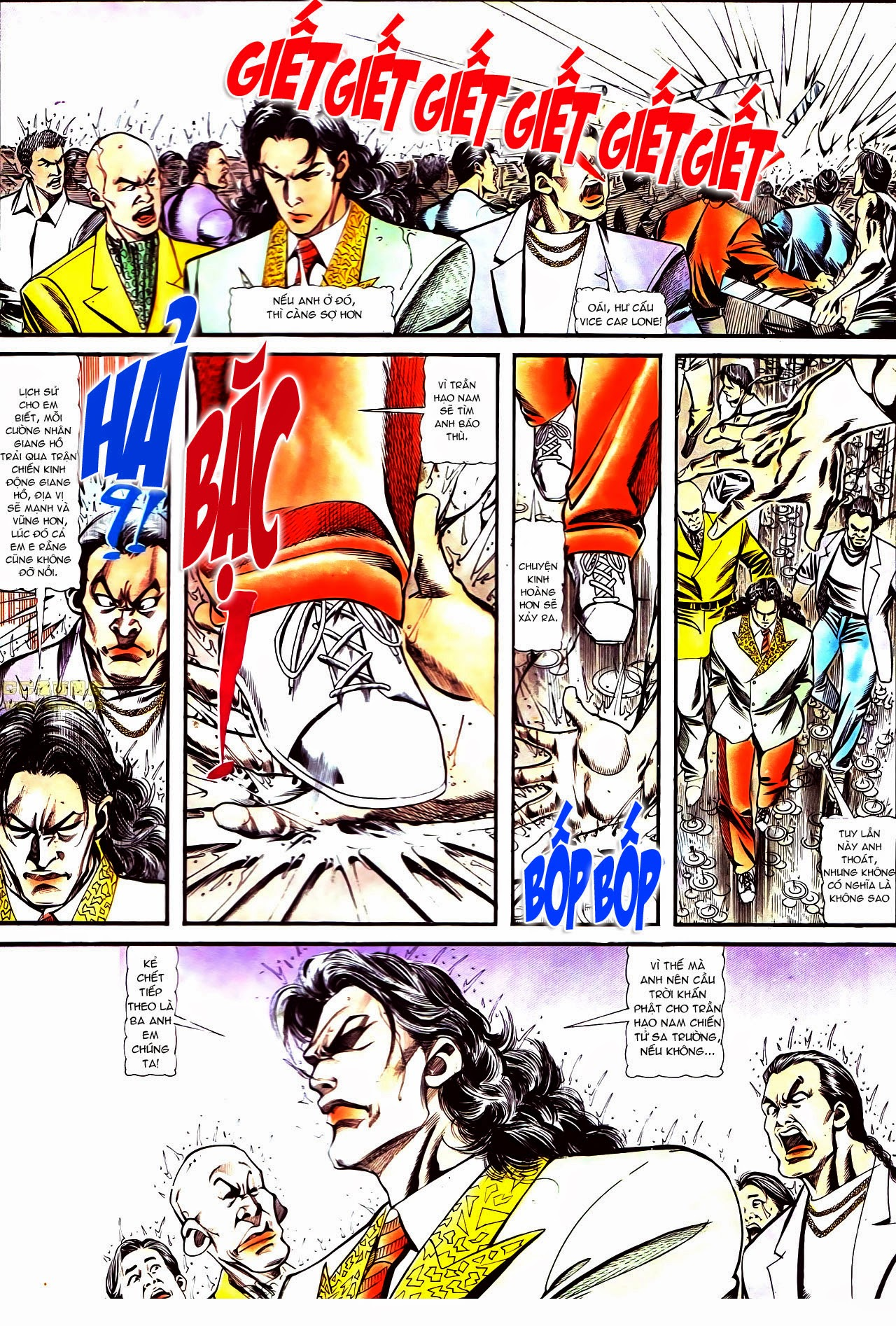 Người Trong Giang Hồ chapter 126: bá chủ trang 17