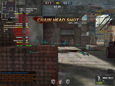 5 Oktober 2018 - Stibium 3.0 PBEVO Indo VIP Full CIT Gratis & Point Blank Philippines Quick Change, Jump, Map Bug, No Reload