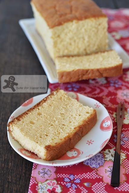 Japanese castella cake kasutera