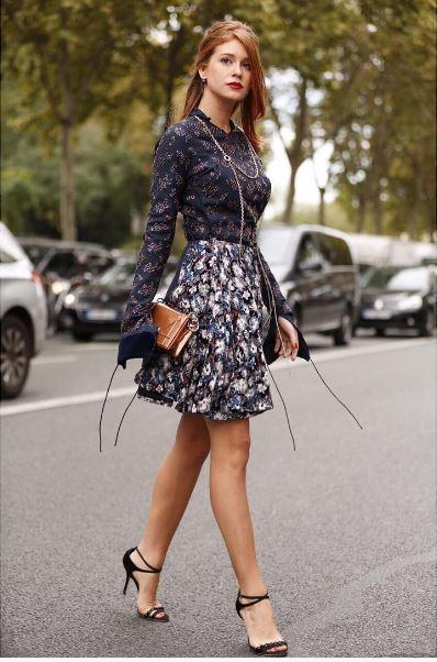 Marina Ruy Barbosa, Semana de moda Paris, viagem França look