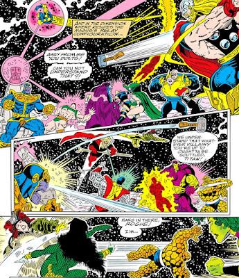 Batalla de La Guardia del Infinito contra los héroes de la Tierra