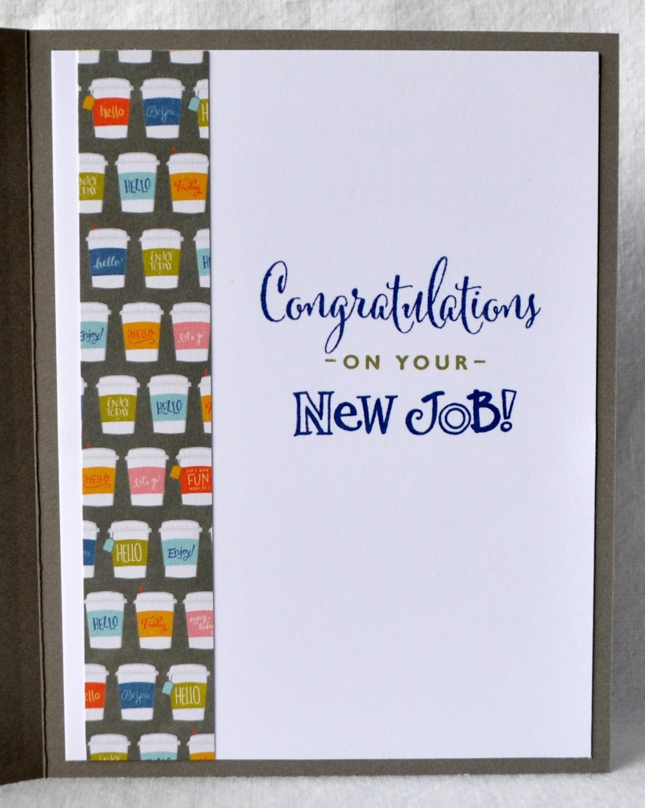 Dats My Style Congratulations On You New Job Card