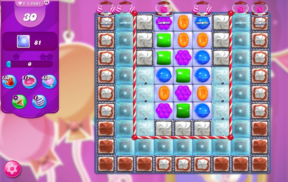 Candy Crush Saga level 5601