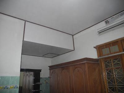 Hasil Pemasangan Shunda Plafon di Rumah Bapak Djemari