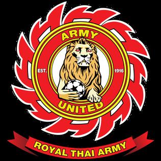 Logo Klub Sepakbola Army United Thailand .PNG