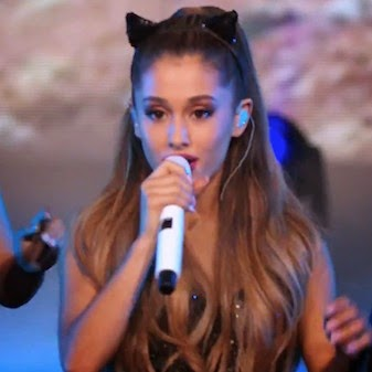 Ariana canta Break Free no programa America's Got Talent