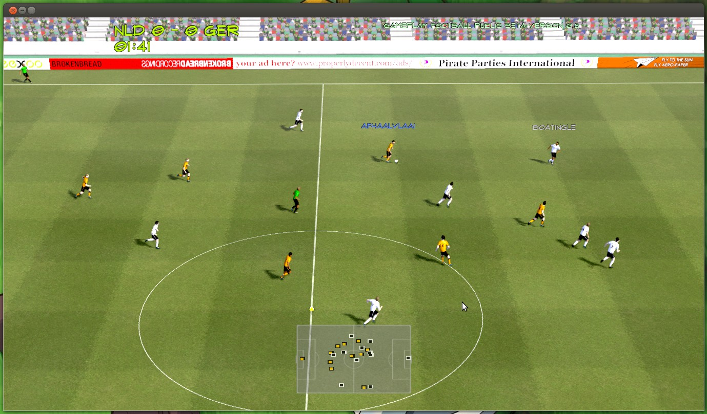 Gameplay football is a 3d football game by indie game studio properly