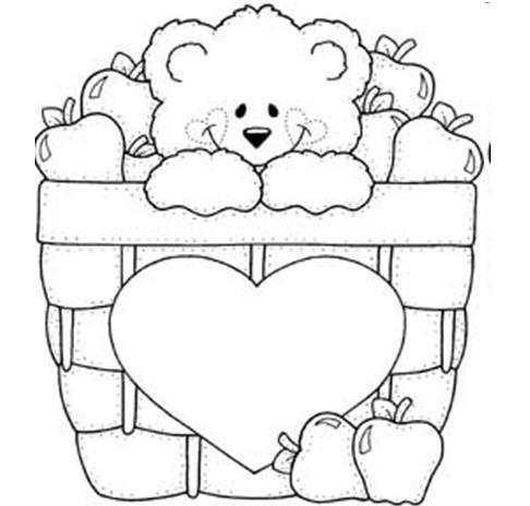 Coisinhas Para Crianças Desenhos De Ursinhos Para Colorir