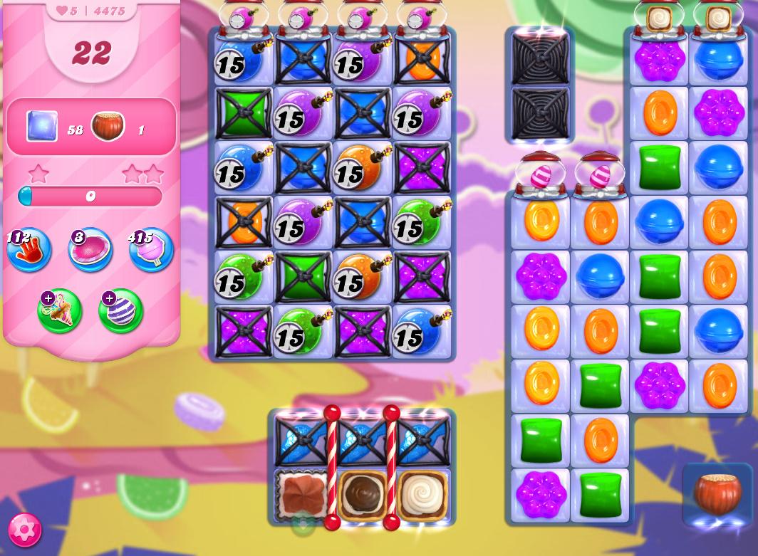 Candy Crush Saga level 4475
