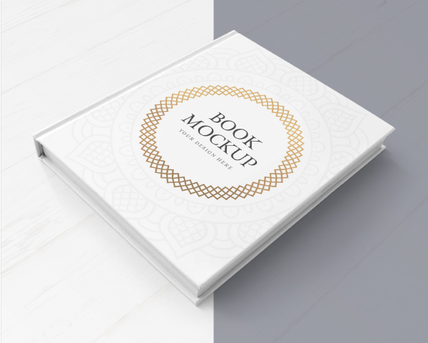 Book Cover Mockup Free Download
