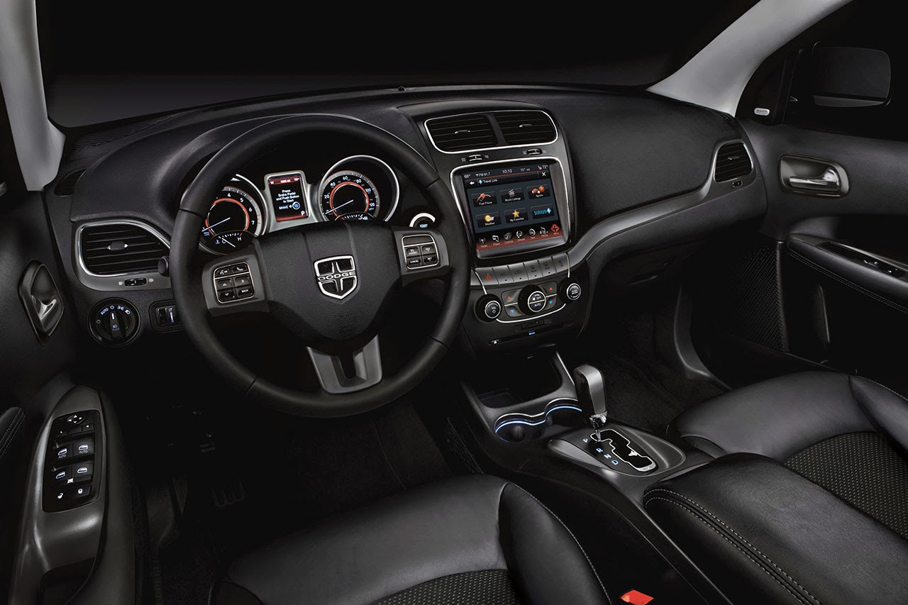 2014 Dodge Journey Crossroad interior