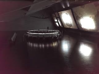 War Room set model for Doctor Strangelove