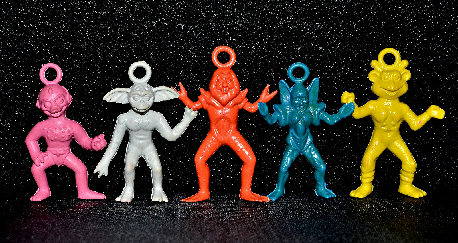 Little Weirdos Mini Figures And Other Monster Toys It Came From