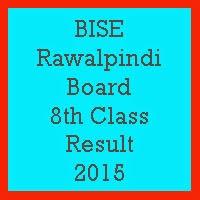 8th Class Result 2017 BISE Rawalpindi Board