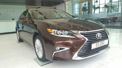 Giới thiệu tổng quan về xe Lexus ES 250 2016