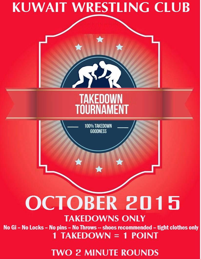 Kuwait Wrestling Club: Takedowns Wrestling Tournament