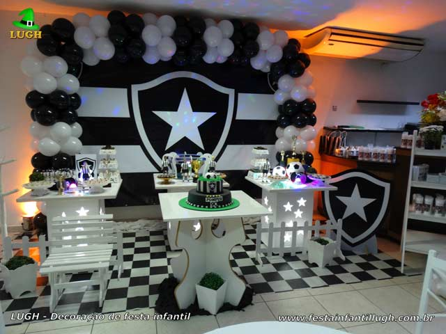 Decoração tema Botafogo provençal - Festa de aniversário