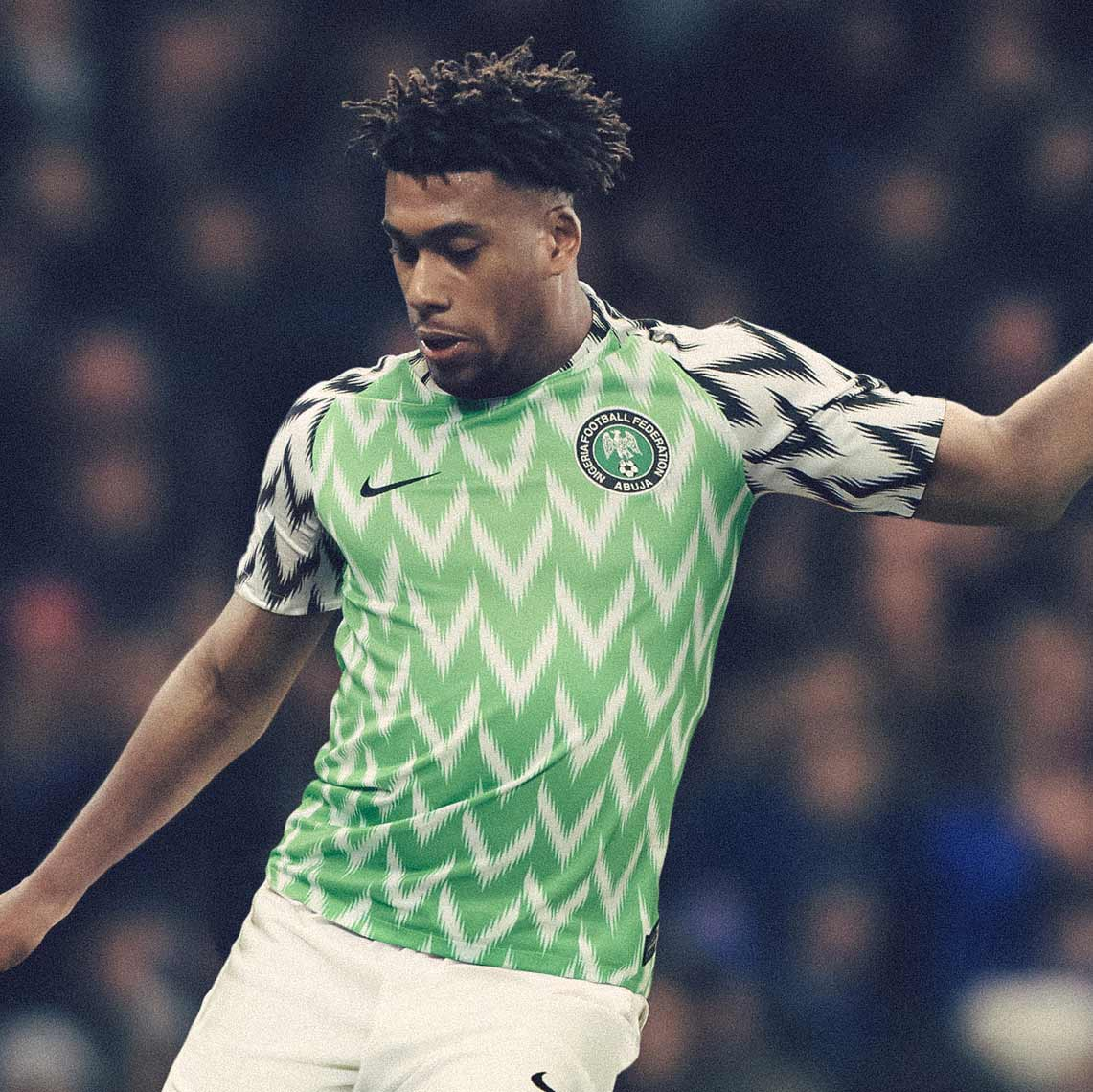 nigeria 2018 world cup home kit revealed footy headlines